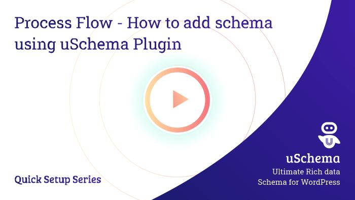 Process Flow - How to add schema using uSchema Plugin